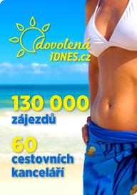 Dovolen�.iDNES.cz - 130.000 z�jezd�, 60 cestovn�ch kancel���